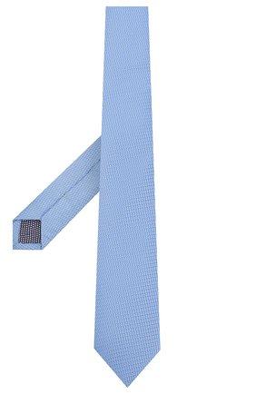 Мужской шелковый галстук ETON голубого цвета, арт. A000 32400 | Фото 2