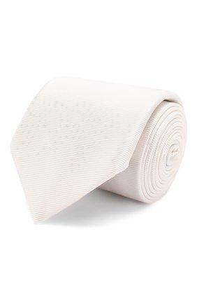 Мужской шелковый галстук ETON белого цвета, арт. A000 32318 | Фото 1