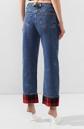 Женские джинсы ALEXANDER WANG синего цвета, арт. 1WC1204272 | Фото 4