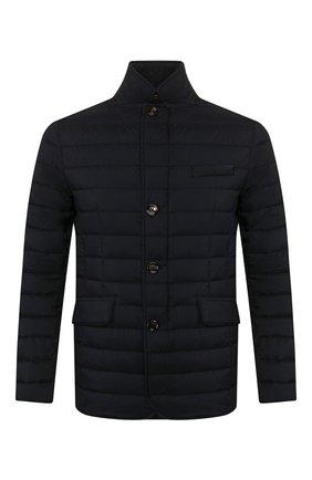 Мужская пуховая куртка zavyer-s3 MOORER темно-синего цвета, арт. ZAVYER-S3/P20M010REFL | Фото 1