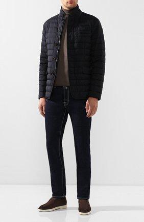 Мужская пуховая куртка zavyer-s3 MOORER темно-синего цвета, арт. ZAVYER-S3/P20M010REFL | Фото 2
