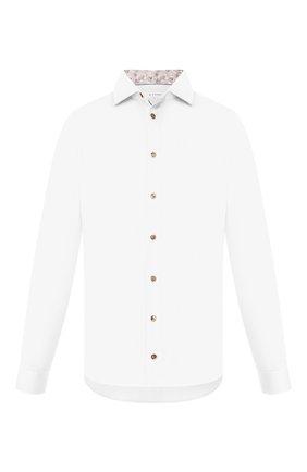 Мужская хлопковая сорочка ETON белого цвета, арт. 1000 01392 | Фото 1
