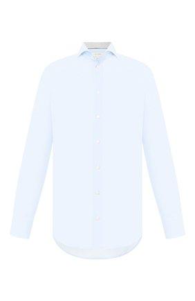 Мужская хлопковая сорочка ETON голубого цвета, арт. 1000 01385 | Фото 1