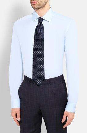 Мужская хлопковая сорочка ETON голубого цвета, арт. 1000 01385   Фото 4