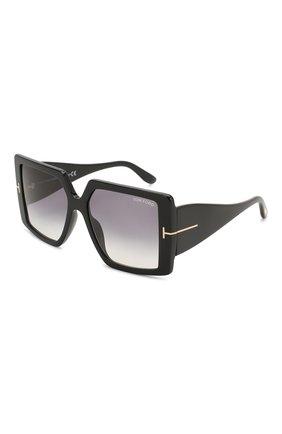 Мужские солнцезащитные очки TOM FORD черного цвета, арт. TF790 01B | Фото 1