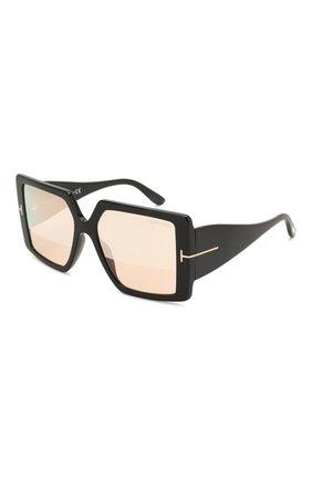 Мужские солнцезащитные очки TOM FORD черного цвета, арт. TF790 01Z | Фото 1