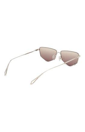 Женские солнцезащитные очки MCQ SWALLOW серебряного цвета, арт. MQ0271SA 002 | Фото 5 (Тип очков: С/з; Оптика Гендер: оптика-женское; Очки форма: Прямоугольные)