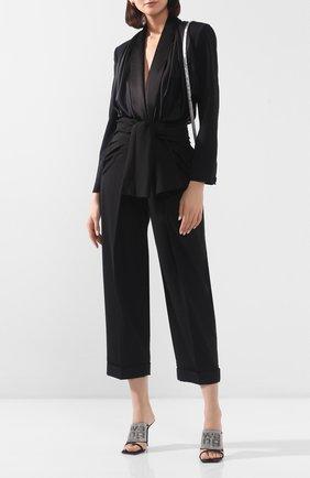 Женское боди ALEXANDER WANG черного цвета, арт. 1WC1207065 | Фото 2