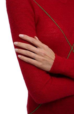 Женское кольцо-волна с цирконами MOONKA STUDIO серебряного цвета, арт. tr-wr-r   Фото 2