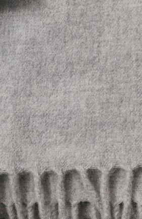 Мужского кашемировый плед BRUNELLO CUCINELLI серого цвета, арт. MPAG91141 | Фото 2