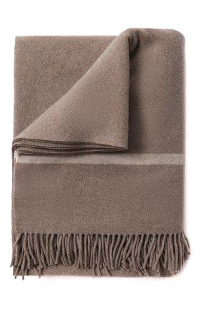 Мужского кашемировый плед LORO PIANA бежевого цвета, арт. FAF9267 | Фото 1