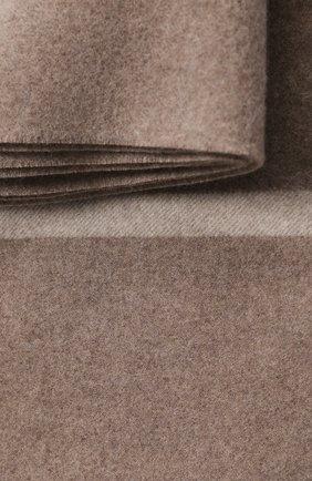 Мужского кашемировый плед LORO PIANA бежевого цвета, арт. FAF9267 | Фото 2