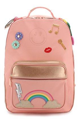 Детская рюкзак JEUNE PREMIER розового цвета, арт. Bo-020159 | Фото 1