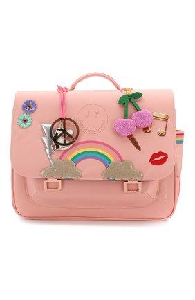 Детская портфель JEUNE PREMIER розового цвета, арт. Itd-20159 | Фото 1