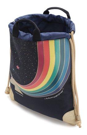 Детская рюкзак JEUNE PREMIER темно-синего цвета, арт. Ci-020129 | Фото 3