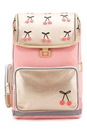Детская рюкзак JEUNE PREMIER розового цвета, арт. Erx-20127 | Фото 1