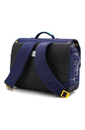 Детская портфель JEUNE PREMIER синего цвета, арт. Itd-20152 | Фото 2