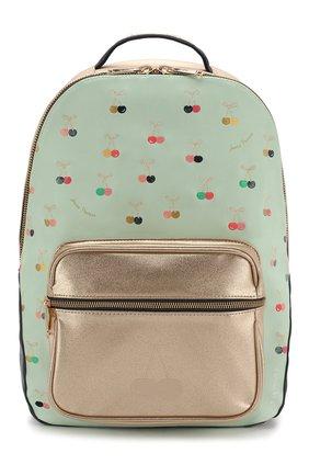 Детская рюкзак JEUNE PREMIER салатового цвета, арт. Bo-020142 | Фото 1