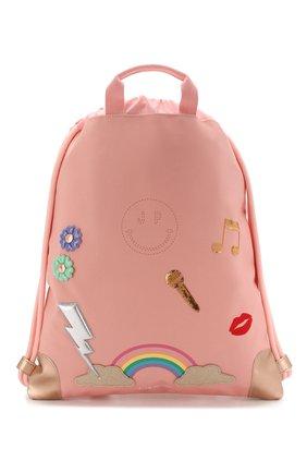 Детская рюкзак JEUNE PREMIER розового цвета, арт. Ci-020159 | Фото 1