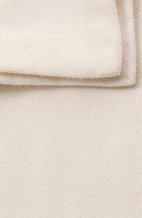 Мужского кашемировый плед LORO PIANA белого цвета, арт. FAA1163 | Фото 2