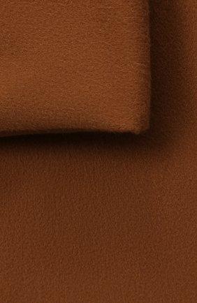 Мужского шерстяной плед LORO PIANA коричневого цвета, арт. FAA1953 | Фото 2