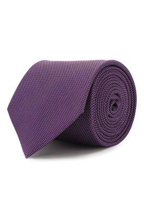 Мужской шелковый галстук ETON фиолетового цвета, арт. A000 32475 | Фото 1