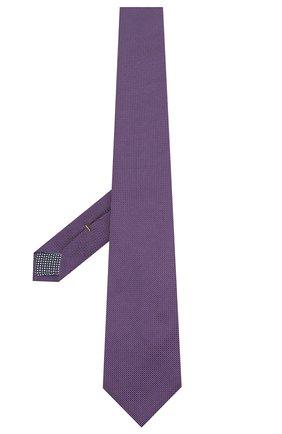 Мужской шелковый галстук ETON фиолетового цвета, арт. A000 32475 | Фото 2