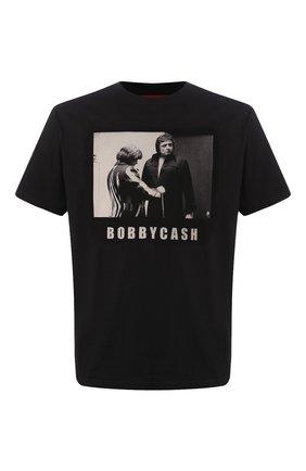 Мужская хлопковая футболка 424 черного цвета, арт. 8023.059.0999 | Фото 1