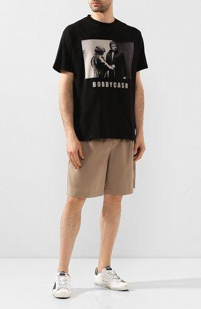 Мужская хлопковая футболка 424 черного цвета, арт. 8023.059.0999 | Фото 2