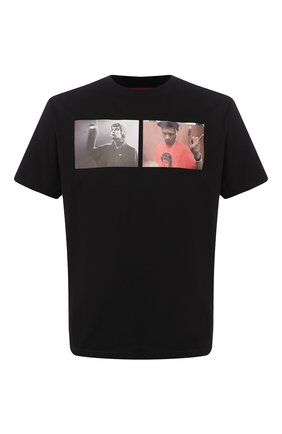 Мужская хлопковая футболка 424 черного цвета, арт. 8022.059.0999 | Фото 1