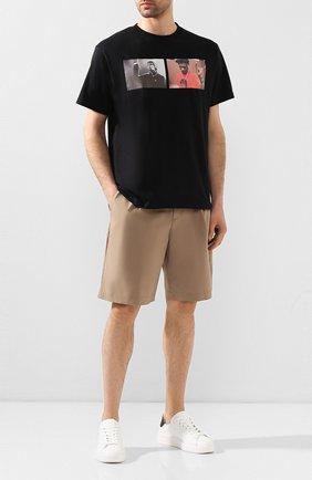Мужская хлопковая футболка 424 черного цвета, арт. 8022.059.0999 | Фото 2