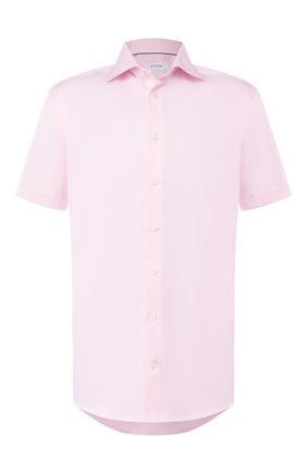 Мужская хлопковая сорочка ETON розового цвета, арт. 1000 01611 | Фото 1