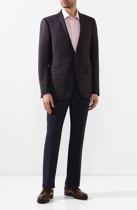Мужская хлопковая сорочка ETON розового цвета, арт. 1000 01611 | Фото 2