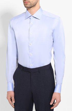 Мужская хлопковая сорочка ETON голубого цвета, арт. 1000 01567 | Фото 3