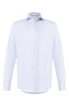 Мужская хлопковая сорочка ETON голубого цвета, арт. 1000 01415 | Фото 1
