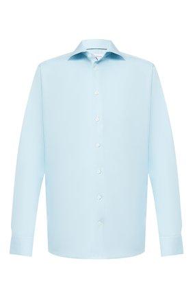 Мужская хлопковая сорочка ETON бирюзового цвета, арт. 1000 01380 | Фото 1