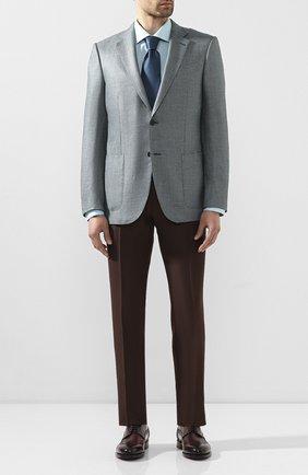 Мужская хлопковая сорочка ETON бирюзового цвета, арт. 1000 01380 | Фото 2