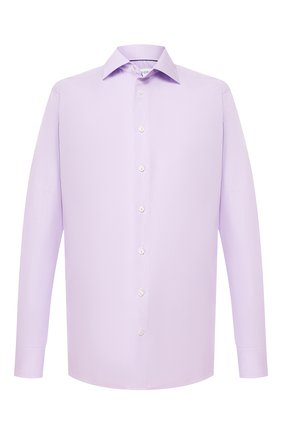 Мужская хлопковая сорочка ETON сиреневого цвета, арт. 1000 01380 | Фото 1