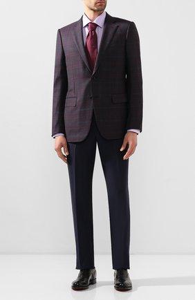 Мужская хлопковая сорочка ETON сиреневого цвета, арт. 1000 01380 | Фото 2