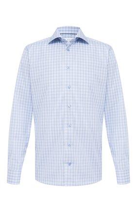Мужская хлопковая сорочка ETON голубого цвета, арт. 1000 01375 | Фото 1