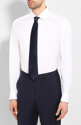 Мужская хлопковая сорочка ETON белого цвета, арт. 1000 01178 | Фото 4