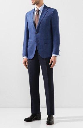 Мужская хлопковая сорочка ETON голубого цвета, арт. 1000 01178 | Фото 2