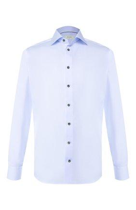 Мужская хлопковая сорочка ETON голубого цвета, арт. 1000 01175 | Фото 1