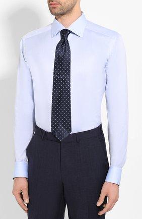 Мужская хлопковая сорочка ETON голубого цвета, арт. 1000 01175   Фото 4