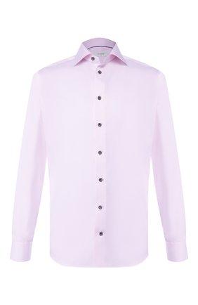 Мужская хлопковая сорочка ETON сиреневого цвета, арт. 1000 01175 | Фото 1