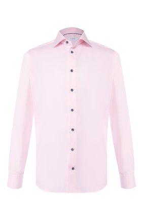 Мужская хлопковая сорочка ETON розового цвета, арт. 1000 01175 | Фото 1