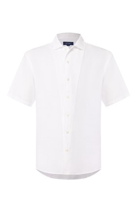 Мужская льняная рубашка ETON белого цвета, арт. 1000 01160 | Фото 1