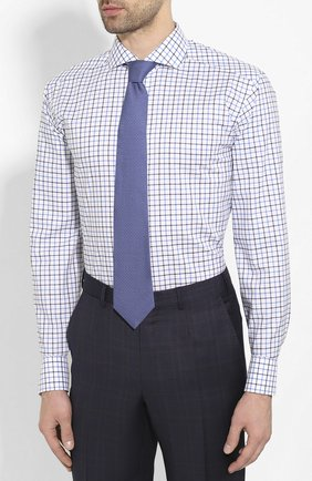 Мужская хлопковая сорочка ETON синего цвета, арт. 1000 00905 | Фото 4