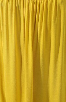 Женское шелковое платье THE ROW желтого цвета, арт. 4927W1623 | Фото 5