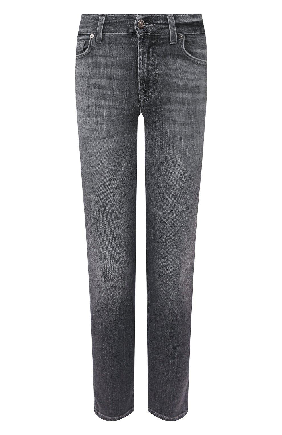 Женские джинсы 7 FOR ALL MANKIND серого цвета, арт. JSVYU790SG | Фото 1